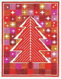 フレメ クロスステッチ 刺繍キット 【RED STAR HEAVEN 】 クリスマス デンマーク 輸入ししゅうキット