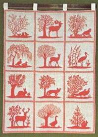 フレメ クロスステッチ 刺繍キット 【森の動物たち】鳥と動物 デンマーク 輸入ししゅうキット