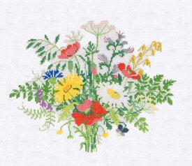 フレメ クロスステッチ 刺繍キット 【女王様のブーケ】花と樹木 デンマーク 輸入ししゅうキット