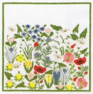 フレメ クロスステッチ 刺繍キット 【お花】花と樹木 デンマーク 輸入ししゅうキット