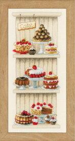 ベルバコ クロスステッチ 刺繍キット 【ケーキ 】 ベルギー 輸入ししゅうキット