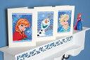 ベルバコ クロスステッチ 刺繍キット 【アナの女王のカード 3個セット】ディズニー ベルギー 輸入ししゅうキット