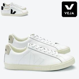 【10%OFFクーポン対象】【最大P34.5倍 4/15 0:00〜】【正規品】veja スニーカー レディース ヴェジャ ベジャ ローカット レースアップ シューズ レザー 白スニーカー ホワイト 白 ブラック 黒 esplar low logo Esplar Leather shoes sneaker 35/26/38/