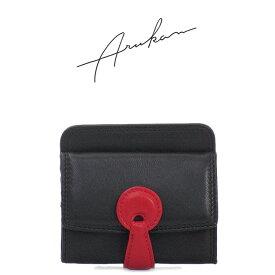 アルカン ARUKAN ミニ財布 小銭入れ ラムレザー 本革 レディース 1055354