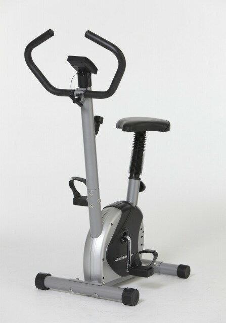 【送料無料】軽量コンパクトエアロバイク     運動 エクササイズバイク エクササイズマシーン 自転車 ペダル ダイエット 負荷ダイヤル ベルト式 健康 フィットネスバイク サイクル サイクリング 健康器具 運動器具 メーター付き