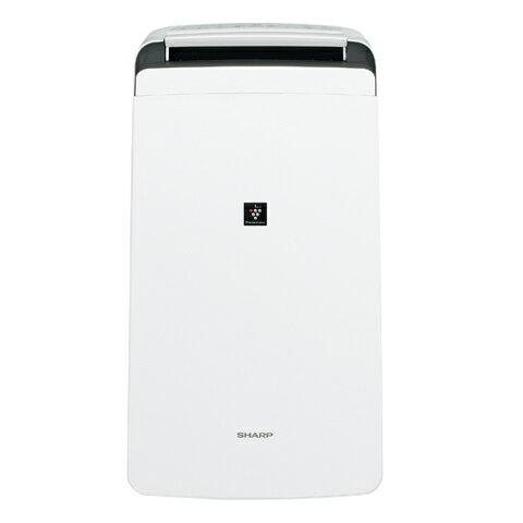 シャープ プラズマクラスター除湿機 CV-H120-W ホワイト     衣類乾燥 乾燥器 消臭 大容量タンク カビ 湿気 湿度 調湿