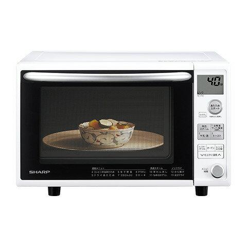 シャープ オーブンレンジ RE-V70A-W ホワイト     電子レンジ 調理器具 調理家電 料理 一人暮らし 新生活 加熱 あたため 解凍