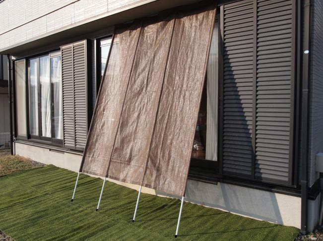 【送料無料】伸縮洋風たてす 180cm幅 高さ260〜300cmタイプ【箱不良】 日よけ 目隠し ベランダ よしず 遮光 省エネ 日陰 紫外線 高さ調節 遮熱 快適 設置簡単 視線 サンシェード UV カット カーテン 折りたたみ 収納 スクリーン ガーデン シート デッキ 日光 支柱