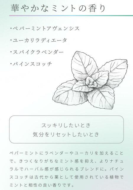 アロマゴコチ(ミント)貼るアロマアロマパッチアロマシールフレグランスマスクミントユーカリリフレッシュ