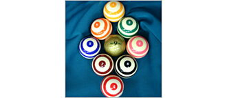 Billiard ball BCJ NEO nine ball set