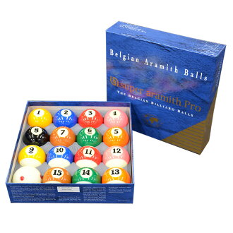 Billiard ball supermarket Arami's TV pro cup ball set