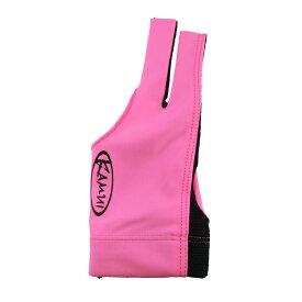 ビリヤードグローブ KAMUI 【カムイ】 クイックドライ ピンク M 右利き用 (QuickDry Pink) | ビリヤードグローブ