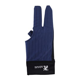 ビリヤードグローブ Adam 【アダム】 グローブ ブルー 右利き用 M (Glove Blue RH M)   ビリヤード グローブ