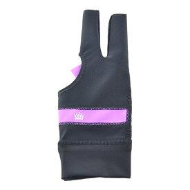 ビリヤードグローブ クラウン グローブ ソフトパープル M 右利き用 (CROWN Glove Soft Purple M RH) | ビリヤード グローブ