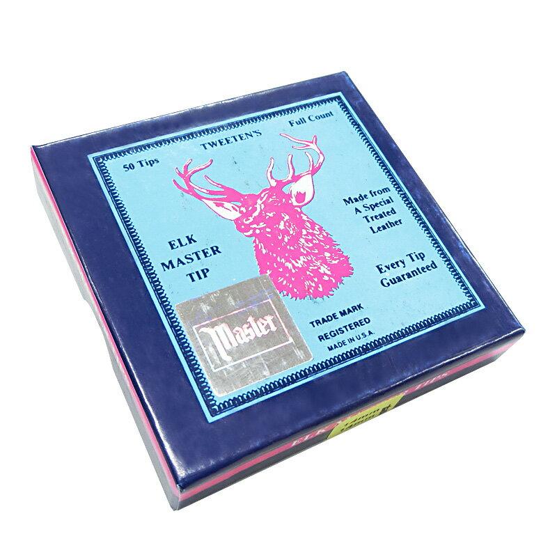 【新春初売SALE】ビリヤードタップ(BILLIARDS TIP)|ビリヤード用品 タップ エルクマスター 箱50個入り