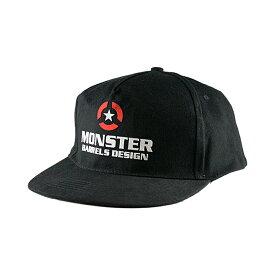 【ブラックフライデーセール】MONSTER DARTS 【モンスターダーツ】 オリジナルデザインキャップ ブラック (Cap Black) | オリジナルキャップ