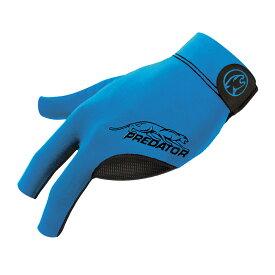 ビリヤードグローブ Predator 【プレデター】 プレデターセカンドスキングローブ ブルー 右利き用 S/M (Glove Blue S/M RH) | ビリヤード グローブ