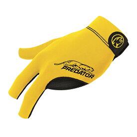 ビリヤードグローブ Predator 【プレデター】 プレデターセカンドスキングローブ イエロー 右利き用 S/M (Glove Yellow S/M RH) | ビリヤード グローブ