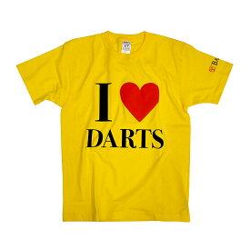 【ブラックフライデーセール】BASARA 【バサラ】 I LOVE DARTS 6.2oz イエロー M (I LOVE DARTS Yellow M)