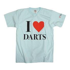 【ブラックフライデーセール】BASARA 【バサラ】 I LOVE DARTS 6.2oz アクアブルー L (I LOVE DARTS Aqua Blue L)