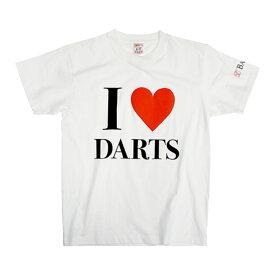 【ブラックフライデーセール】BASARA 【バサラ】 I LOVE DARTS 6.2oz ホワイト M (I LOVE DARTS White M)