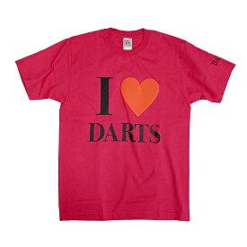 【ブラックフライデーセール】BASARA 【バサラ】 I LOVE DARTS 6.2oz ショッキングピンク XL (I LOVE DARTS Shocking Pink XL)