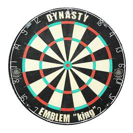 ダーツ ボード ハード DYNASTY 【ダイナスティ】 ハードダーツボード エムブレム キング【451】 (EMBLEM KING Type-N)   ハードボード 静音 本格ダーツボード