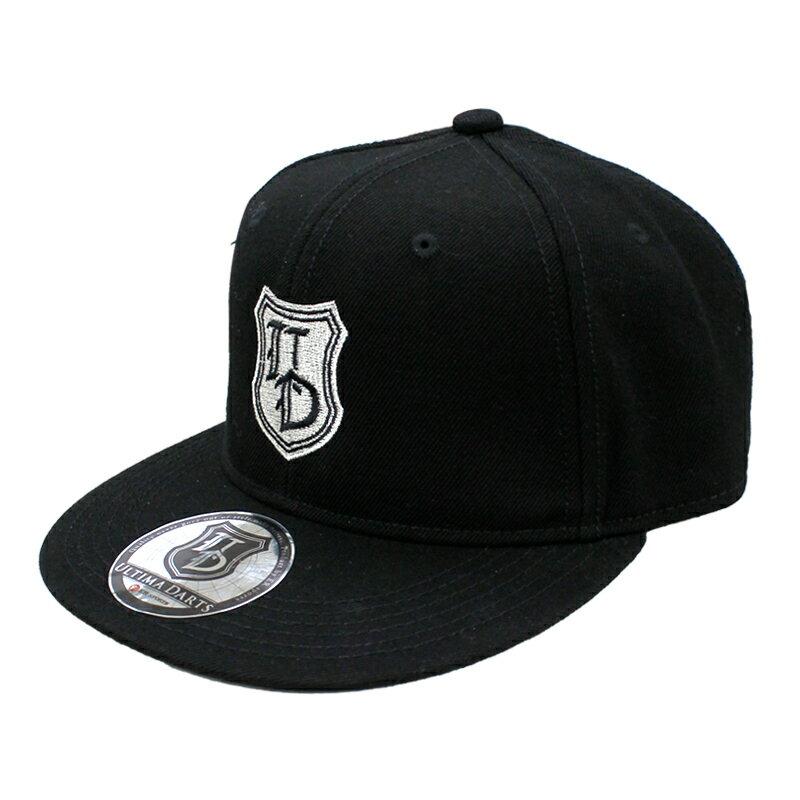 ULTIMA DARTS 【アルティマダーツ】 オリジナルデザインキャップ ブラック/ブラック (Cap Black/Black) | オリジナルキャップ