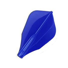 【ダーツ フライト、ダーツフライト】COSMO DARTS Fit AIRフライト AWシェープ/Dブルー[フィットフライト]