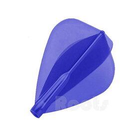 【ダーツ フライト、ダーツフライト】COSMO DARTS Fit AIRフライト Aカイト/Dブルー[フィットフライト]