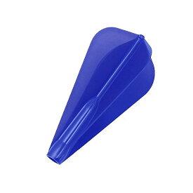 【ダーツ フライト、ダーツフライト】COSMO DARTS Fit AIRフライト Aスーパーカイト/Dブルー[フィットフライト]