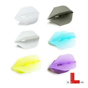 ダーツ フライト バレル シャンパンフライトL 【ロケット】(メール便OK/3トリ)