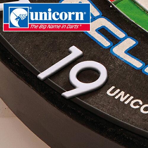ダーツ unicorn ECLIPSE HD2 PRO メタルナンバーリング(メール便不可)