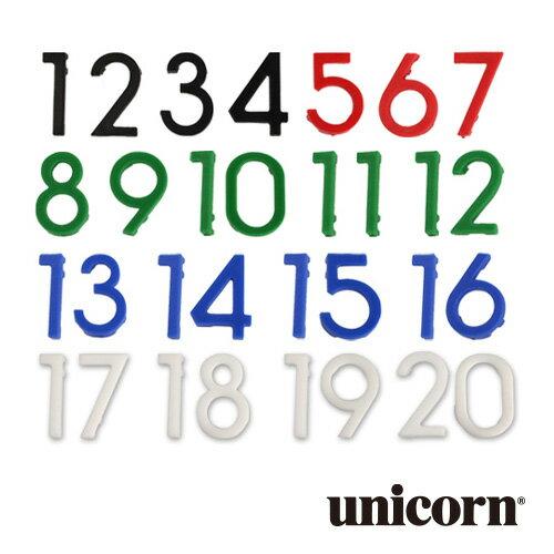 ダーツボード unicorn ECLIPSE HD 2 ナンバーズ(メール便OK/3トリ)