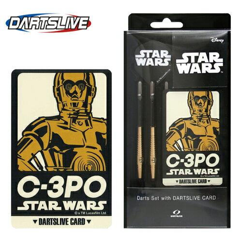 ダーツライブカード付 STAR WARS Darts Set C-3PO (メール便不可)