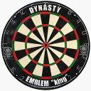 """ダーツボード DYNASTY ダイスティーEMBLEM """"KING"""" 「Type-N」ハードダーツボード 13.2インチ【メール便不可】"""
