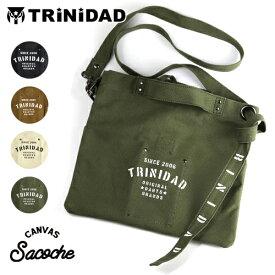 ダーツケース TRiNiDAD Sacoche トリニダード サコッシュ 全4色 キャンバス ショルダーバッグ クラッチバッグ
