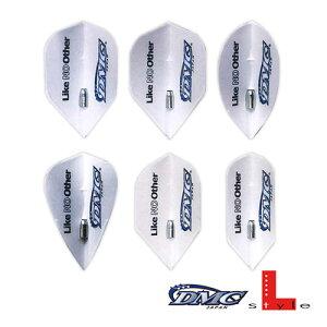 【SALE】ダーツ フライト DMC フライトL シャンパンリング付 ロゴホワイト L-Style ディーエムシー フライトエル (メール便OK/3トリ)