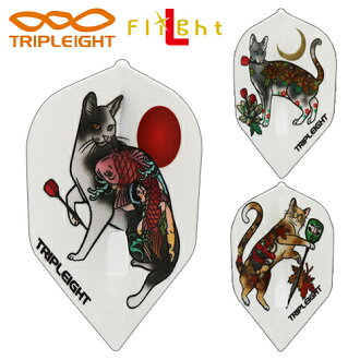 Flight  TRIPLEIGHT * flight L tattoo cat