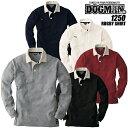 【即日発送】ラガーシャツ ドッグマン DOGMAN 1250 ラガーシャツ オールシーズン素材【ポロシャツ 長袖】【長袖シャツ…