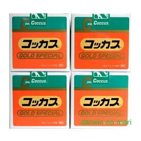 【お買得4缶セット】コッカス ゴールドスペシャル 4缶セット 1包に腸内細菌が約7,000億個と有用酵母配合