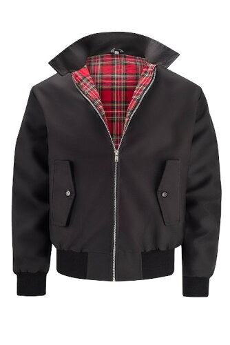 MensClassicHarringtonJacketBLACK