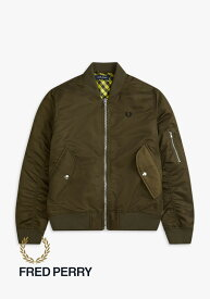 フレッドペリー FREDPERRY OVERSIZED BOMBER JACKET
