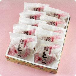 館どら[バター・黒糖・栗]どら焼き10個詰  【楽ギフ_のし】