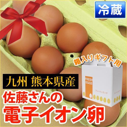 元気な鶏をヒナから育てる!九州熊本産 佐藤さんの「電子イオン卵 30個入り」【1パック10個入り】 衛生管理・環境も万全 【セット同梱で送料無料】【熊本県宇土市】