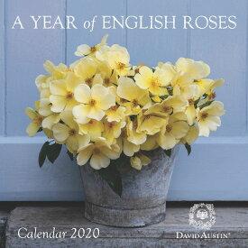 *50% OFF!* Wall Calendar 2020 - イングリッシュローズ・カレンダー 2020