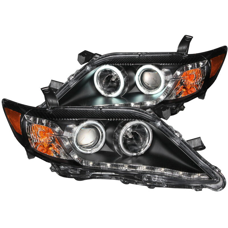 2010〜2011北米トヨタ カムリ用ヘッドライト ブラック