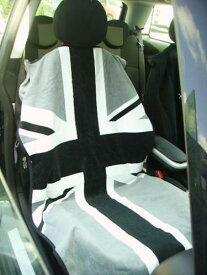 シートタオル イギリス国旗 ミニクーパーなどに [シートカバー][シートアーマー][コットン][ベロア][海に][山に][アウトドア][アメ車][逆輸入車][デイブレイク]