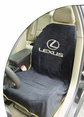 シートタオル ブラック 黒 レクサスRX LXなどに [シートカバー][シートアーマー][コットン][ベロア][海に][山に][アウトドア][アメ車][逆輸入車][デイブレイク]