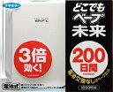 vapeフマキラー どこでもベープ未来 200日セット パールホワイト(200日間、電池・薬剤の交換なし)